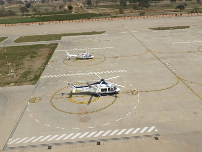 India gets first integrated heliport