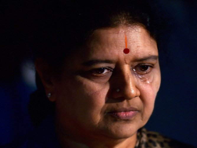 No AC, mattress for Sasikala in prison: DIG