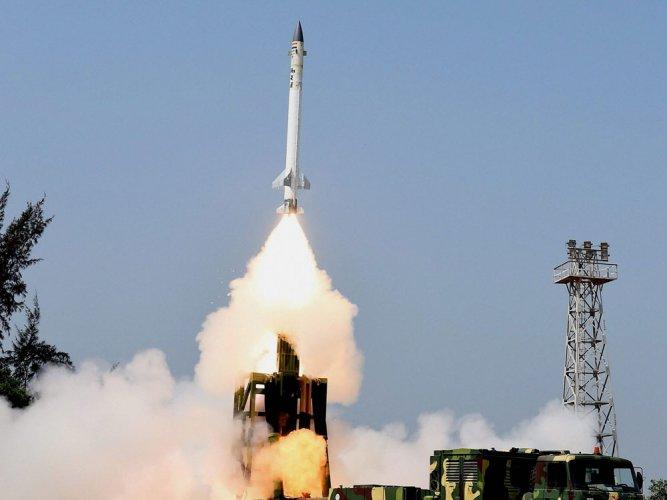 India test-fires indigenous supersonic interceptor missile