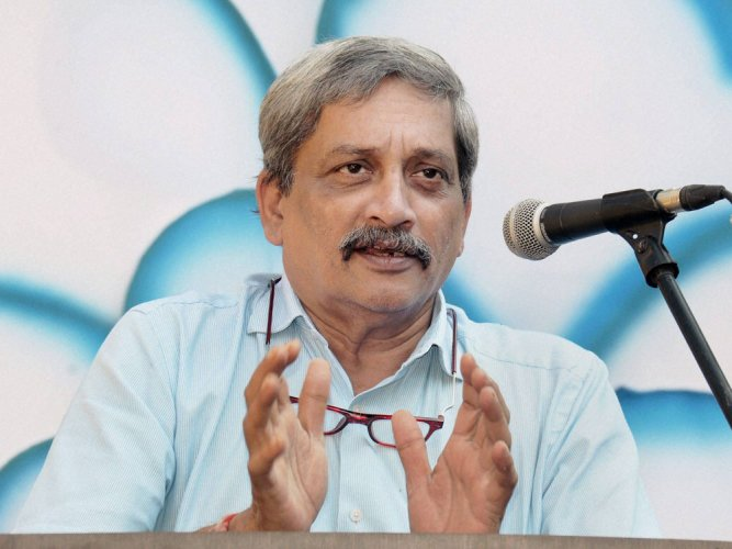 Parrikar backs free speech but within legal framework