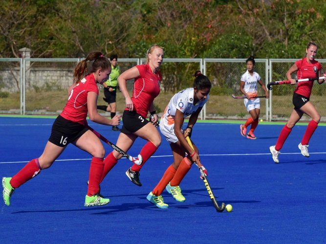 Indian eves outclass Belarus 5-1 in 1st hockey Test