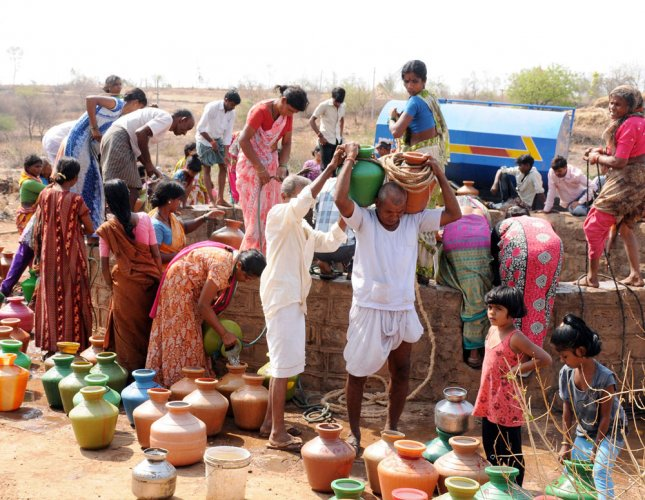 Slow progress of rural drinking water projects in state irks Centre