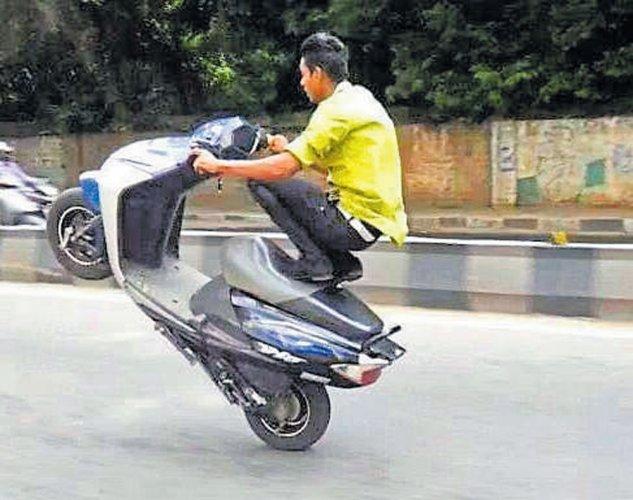 Police set to stop wheelies on tracks