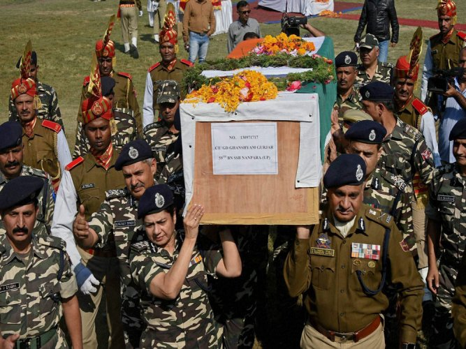 Jawan buried after second autopsy