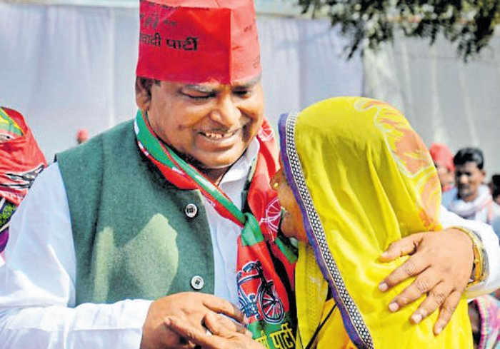 Sack 'favourite' min if you can't arrest him : BJP to Akhilesh