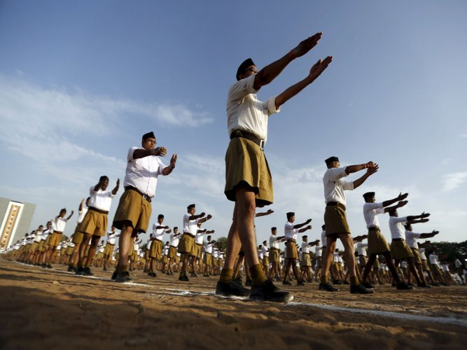 RSS members injured in suspected CPM attack