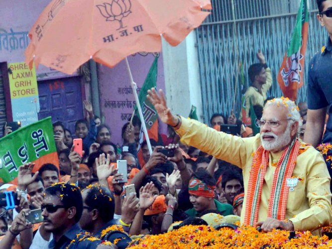 PM makes impassioned plea to voters at final UP rally