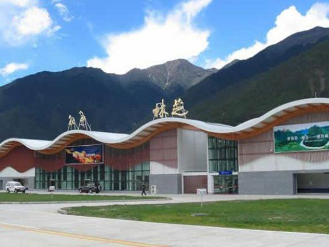 Tibet's 2nd largest airport terminal opened close to India