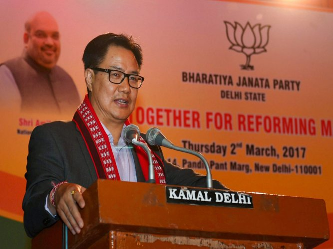 India's stand consistent, well known: Rijiju on Durrani's remark