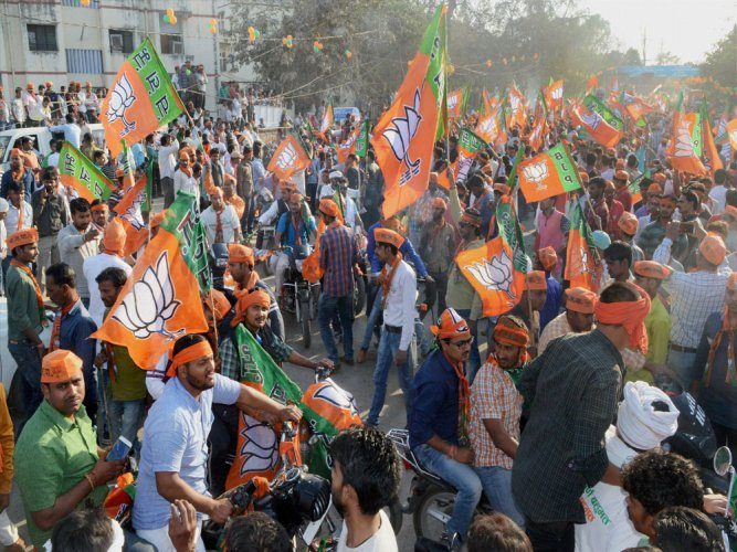 Concerned BJP sweats to prop up ally