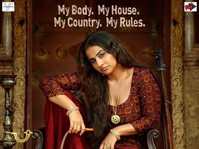 Vidya appears bold and intense in 'Begum Jaan' first look