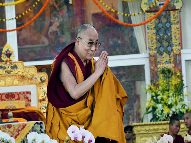 Dalai highly 'deceptive actor': China on his 'brain' comments