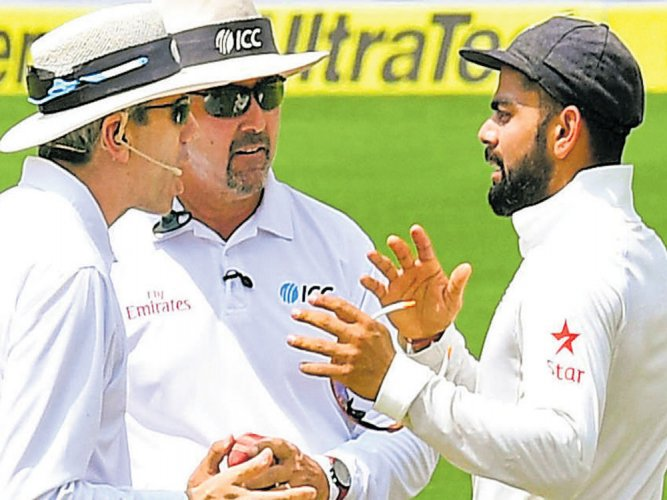 Tensions soar on pitch