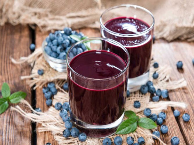 Blueberry juice may boost brain function