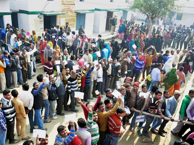 83% votes polled in Manipur till 3 pm, people still in queues