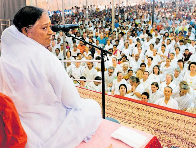 Love should start within, says Amma