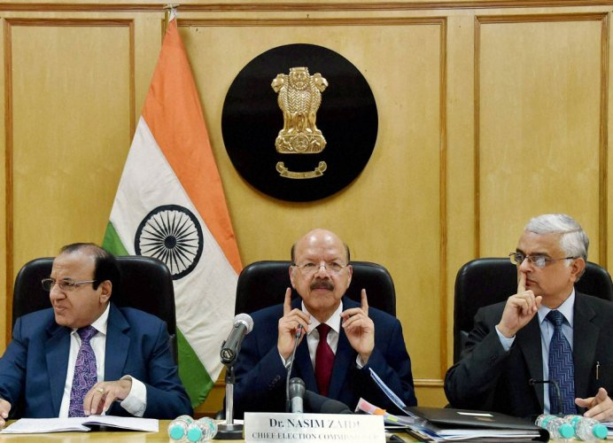 Law needed to deal with evolving situations during polls: CEC