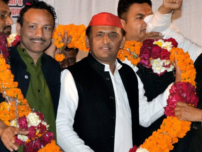 Open to 'all possibilities' to prevent BJP from coming to power: Akhilesh Yadav