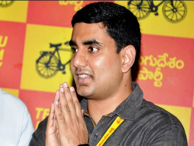 Chandrababu's son Lokesh declares assets worth over Rs 330 cr