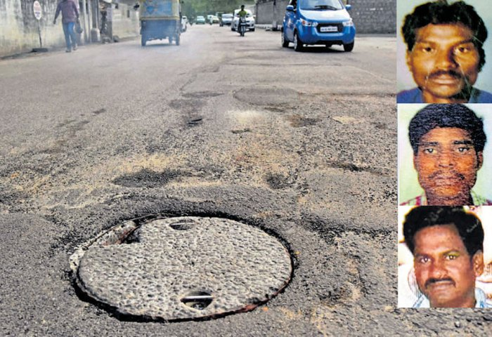 'Agents' of contractor 'influence' manhole victims' kin
