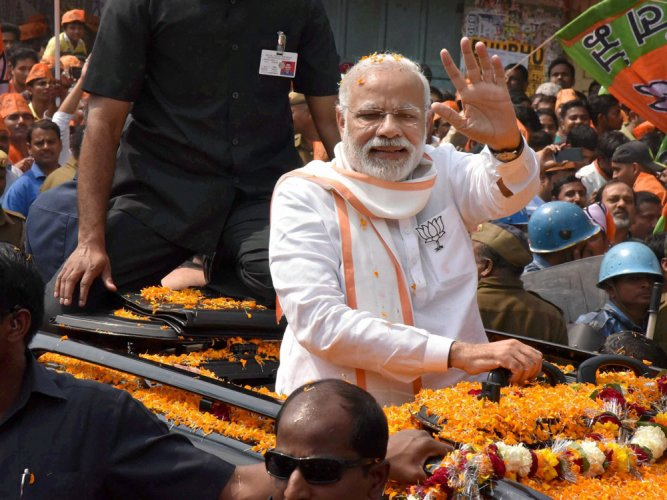 Exit polls give edge to BJP