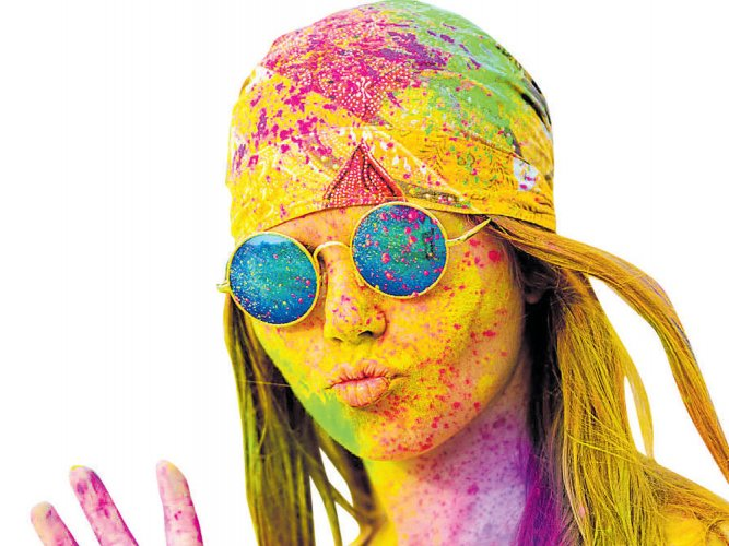 Protect your skin during Holi