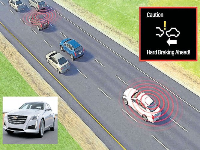 Coming soon: cars  that talk to one another