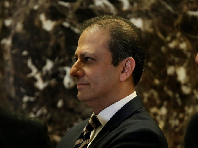 Bharara among 46 US attorneys asked to quit by Trump admn