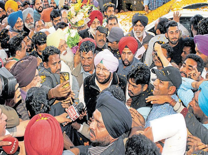 Amarinder plays a captain's innings