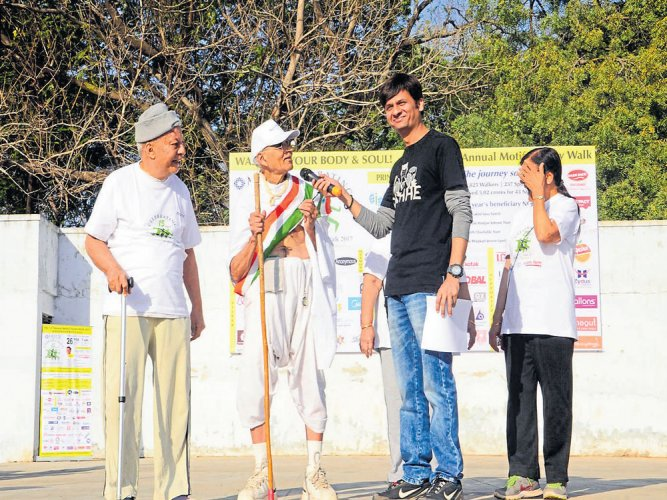 Walk for health, pay for a cause