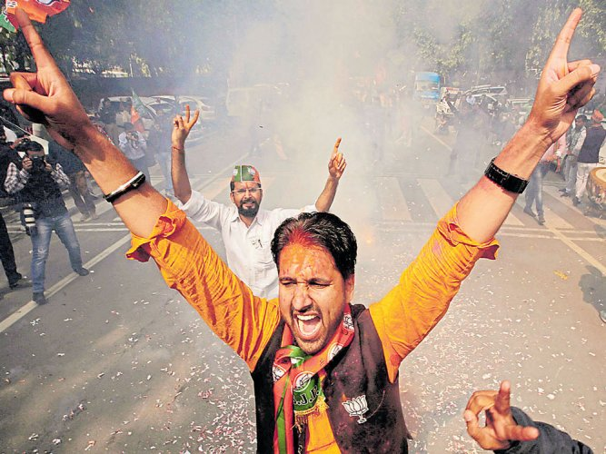 Rivals stunned; win consolidates Modi's position as PM