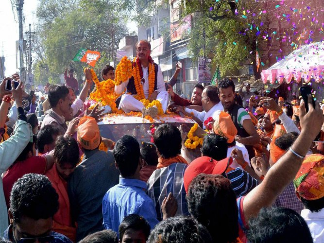 Saffron party scores victory in Muslim-dominated areas