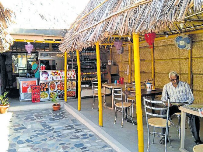 Just relax, coconut cafes on highways
