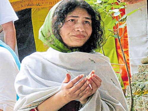 Irom Sharmila retires hurt