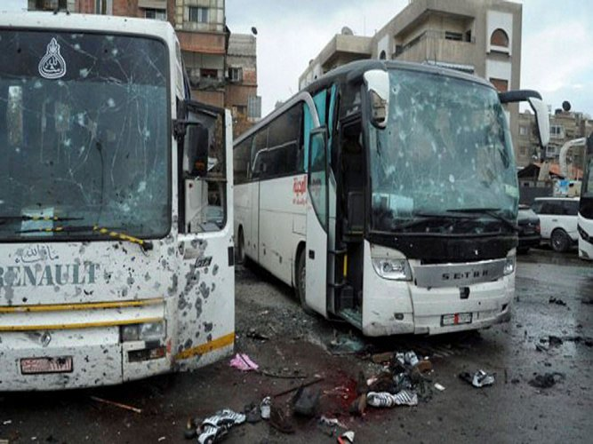Twin Damascus bombs kill 59, mostly Iraqi pilgrims