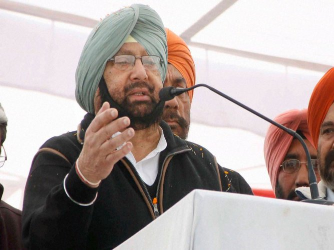 Captain to take oath as CM on March 16