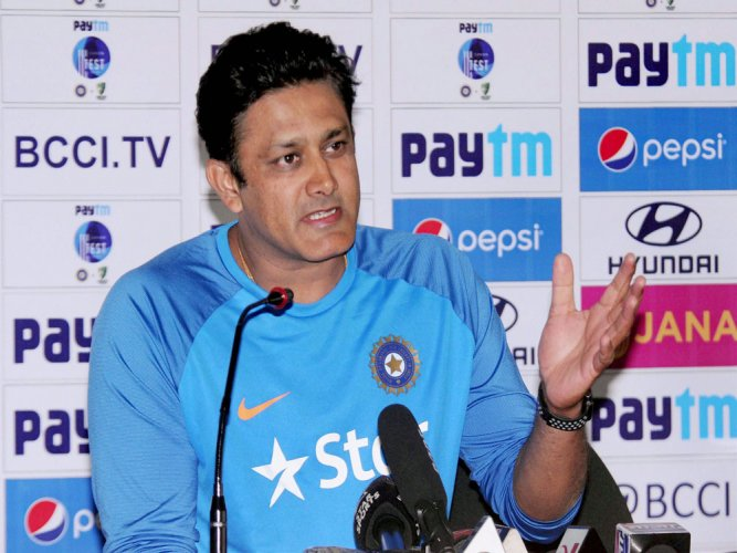 Kumble won't ask Kohli and Co. to curb aggression