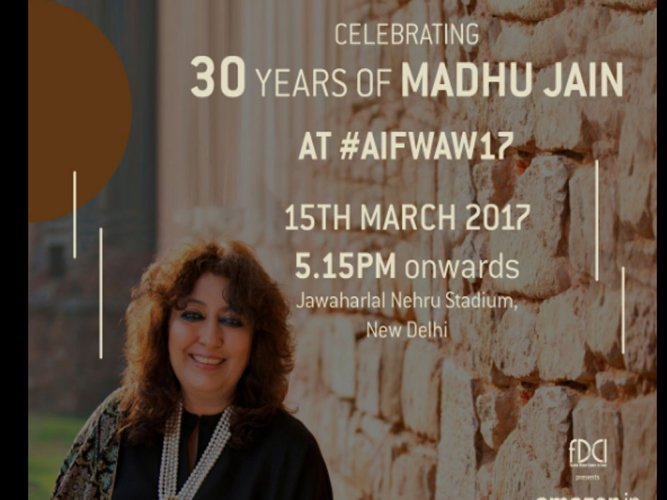 Madhu Jain breaks age stereotypes at AIFW