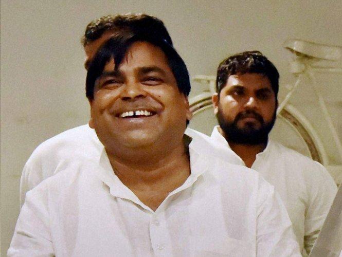 Rape-accused former minister Prajapati held