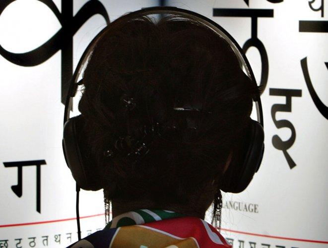 Headphones catch fire on flight