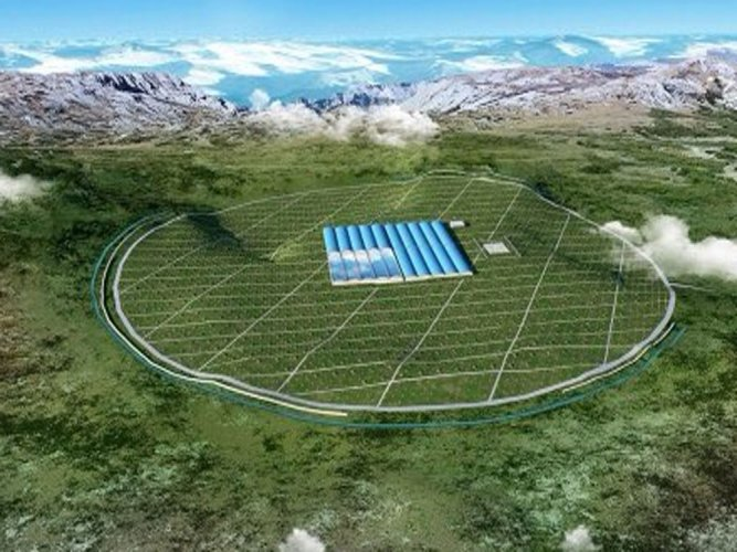 China starts building largest cosmic-ray observatory