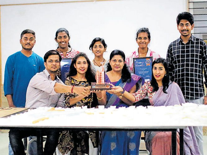 Winning honour with designs