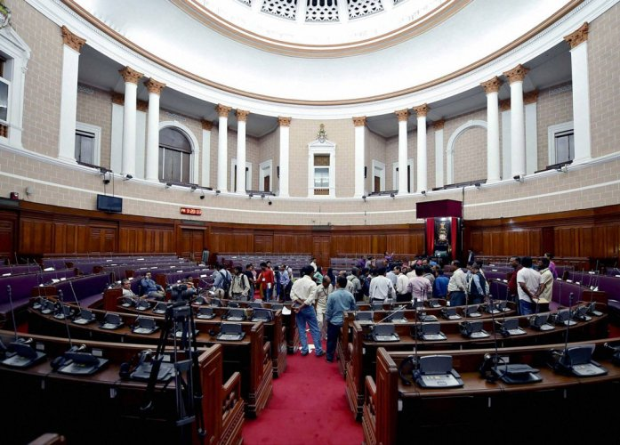 Opposition demands removal of 'tainted' WB ministers