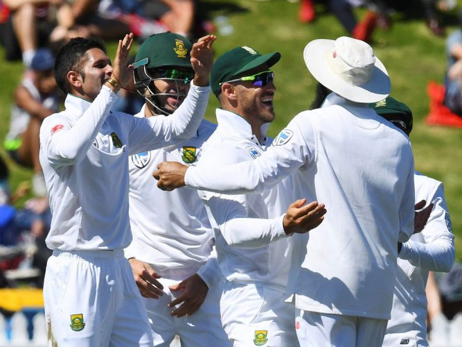 Maharaj sets 'impossible' win for South Africa