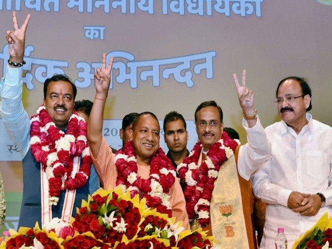 Yogi Adityanath to be new UP CM, swearing in tomorrow