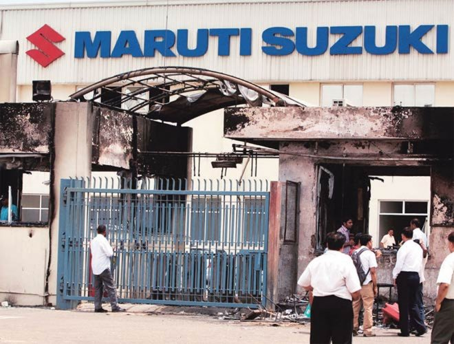 13 Maruti ex-employees get life term for 2012 violence