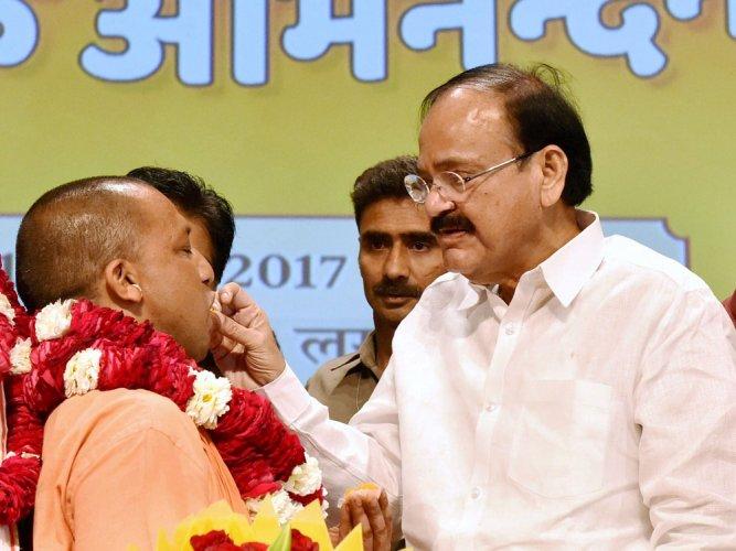 Adityanath's Hindutva hardliner image in media, he is for development: BJP