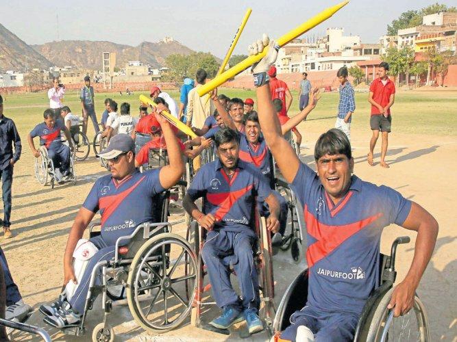 Handicap not a deterrent for them