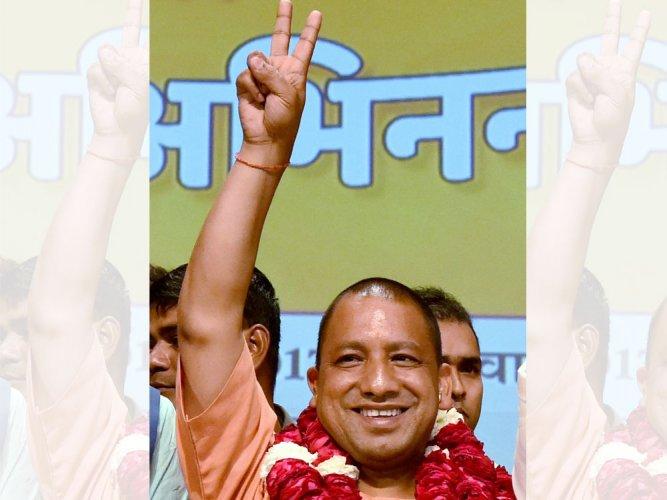 BJP springs big surprise, names Adityanath UP CM
