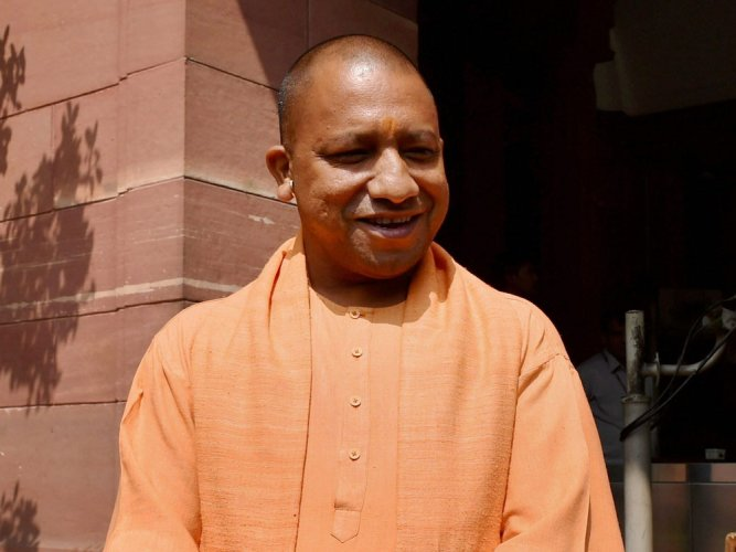 Stage set for Adityanath's swearing in as UP CM